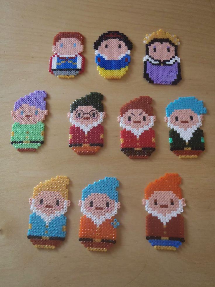 Snow White perler beads
