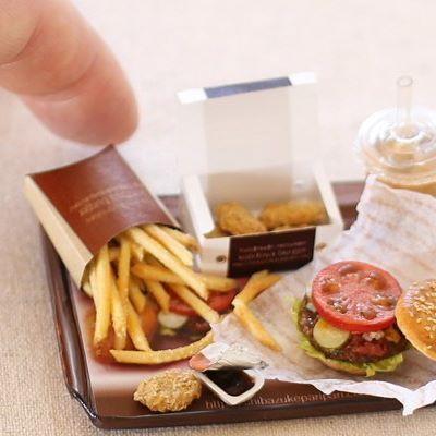#miniaturefood