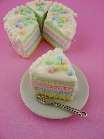 Easter Cake Ideas | it's not a real cake – but what a cute idea for an effective cake ...