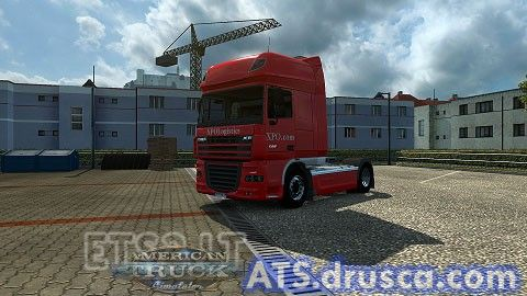 DAF XF XPO Logistics Skin