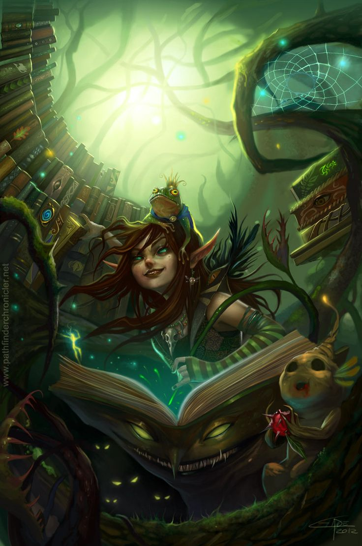 Deepwood Librarian by Carolina-Eade