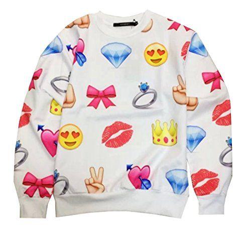 Partiss Damen Emoji Expression Logo Trainingsanzug Partiss http://www.amazon.de/dp/B00UYJ65EW/ref=cm_sw_r_pi_dp_gO9cvb0NEMV00