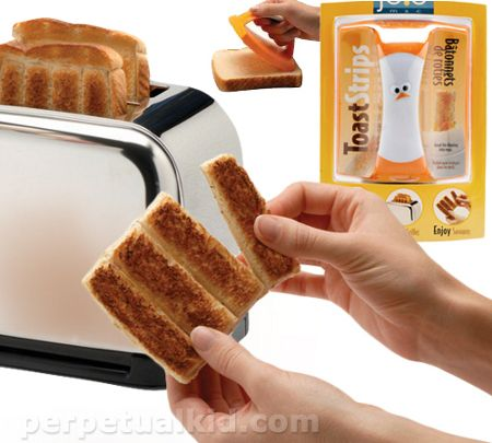 toast strips: Ideas, Strips Stampers, Serious Awesome, Toast Strips, Food, French Toast, Awesome Website, Kitchens Gadgets, Toaststrip