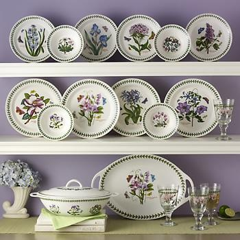 """Portmeirion """"Botanic Garden"""" Dinnerware, have these and just love them"""