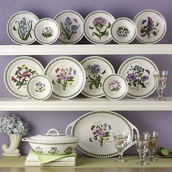 Service for 4  Botanic Garden  Porcelain Dinnerware by Portmeirion  sc 1 st  Pinterest & 172 best portmeirion pottery images on Pinterest | Portmeirion ...