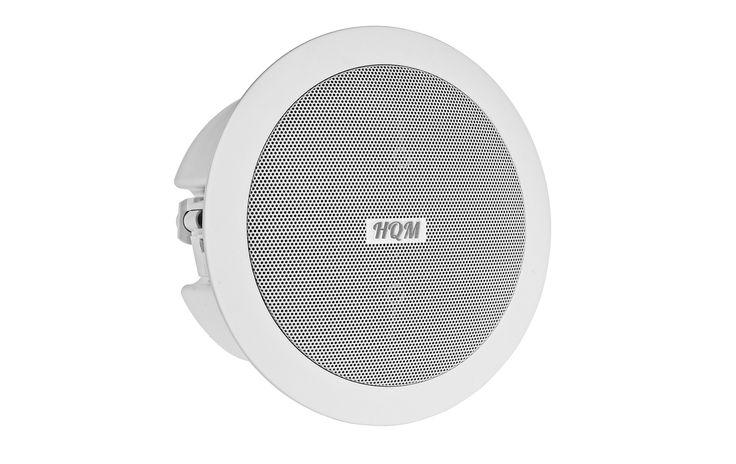 Głośnik sufitowy HQM510SO http://hqm.pl/p-hqm-510so  Głośnik sufitowy, okrągły, 16W - 8W/16W / 100V, 90Hz - 20kHz 8Ω / 90dB/1W/1m, Głośnik dwudrożny  #audio #sound #music #speakers #indoor #ceiling