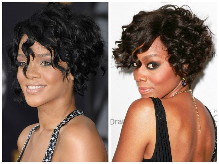 17 Best Images About Short Curly And Wavy Hairstyles On