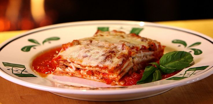 Get the Dish: Olive Garden Lasagna Classico