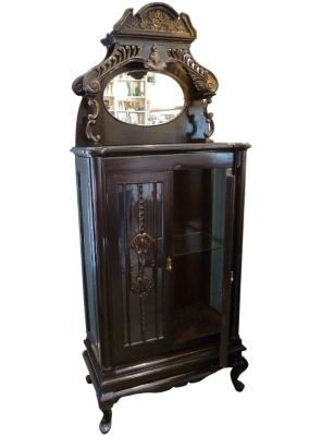 Curio Cabinet - One Kings Lane - Vintage  Market Finds - Furniture