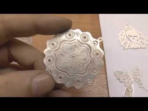 Как с помощью лазерного принтера делать ювелирные изделия из серебра. 2D plating - YouTube