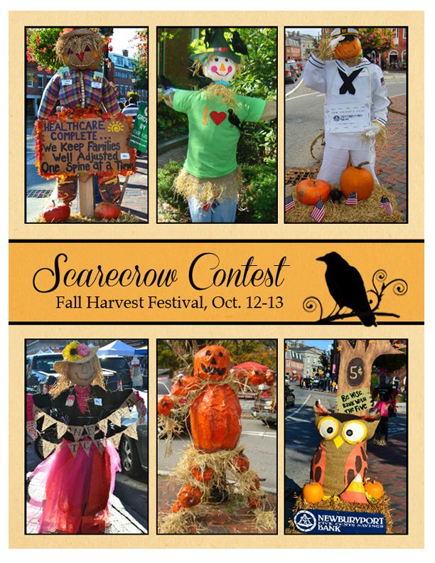 16 best newburyport holidays images on pinterest bruges costume newburyports annual scarecrow contest during fall harvest festival columbus day weekend stopboris Gallery