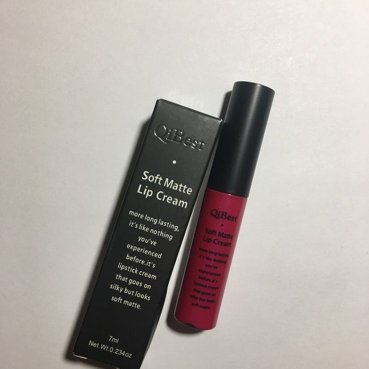 My Soft Matte Lip Cream Brand New in Box by ! Size  for $$1.00. Check it out: http://www.vinted.com/beauty/makeup/22136155-soft-matte-lip-cream-brand-new-in-box.