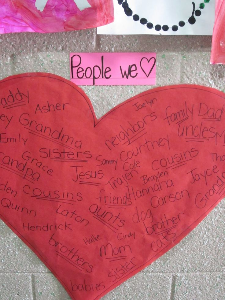 February activity: documenting the people, places, and things we love