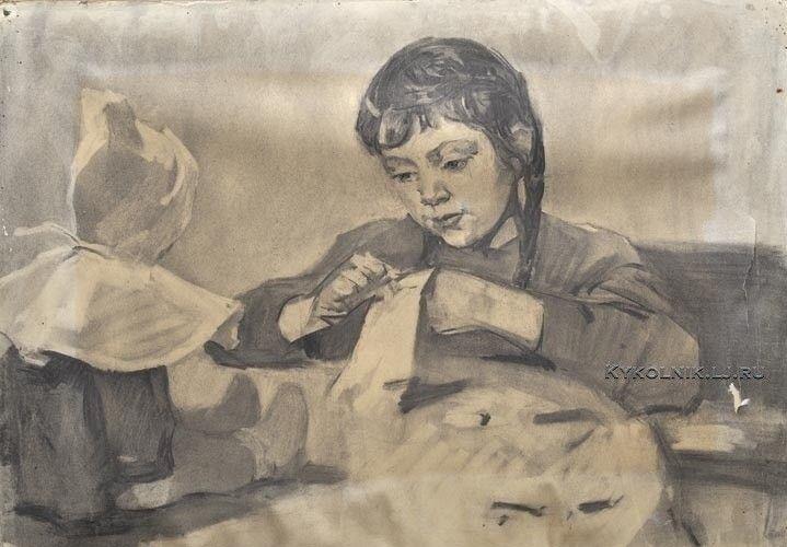 Изобразительное искусство СССР. Кукла в живописи... 4 - «Впечатления дороже знаний...»