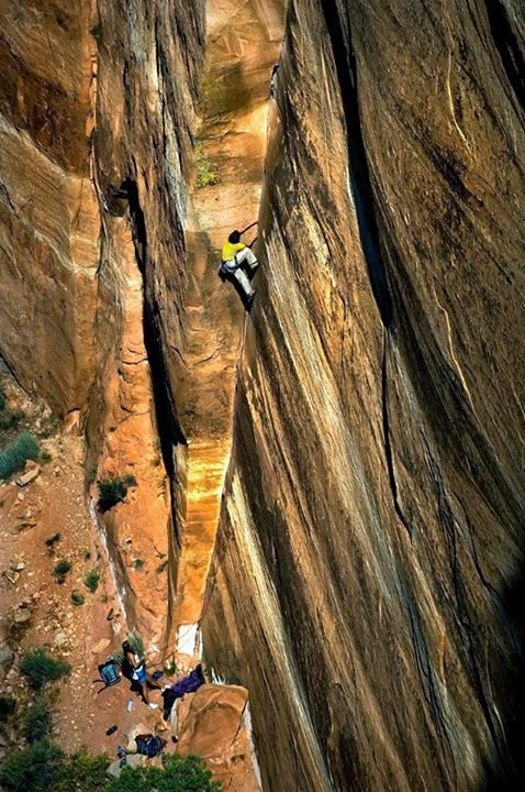 Find a new climbing project - Dihedral 1 58, Grand Junction, Colorado  photo: David Clifford