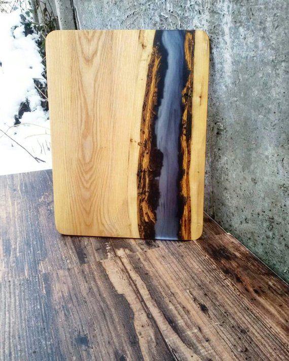 Epoxy Resin Board Gift board Cutting board Wooden Serving Board River Board