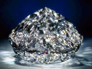 Centenary white diamond -DeBeers - considered the most perfect of all diamonds in the world