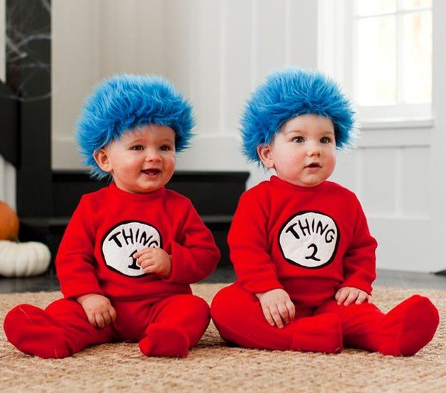fancy baby thing 1 2 costumes twins halloween - Baby Twin Halloween Costumes