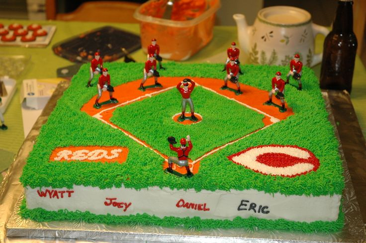 Pictures of Baseball Field Cakes