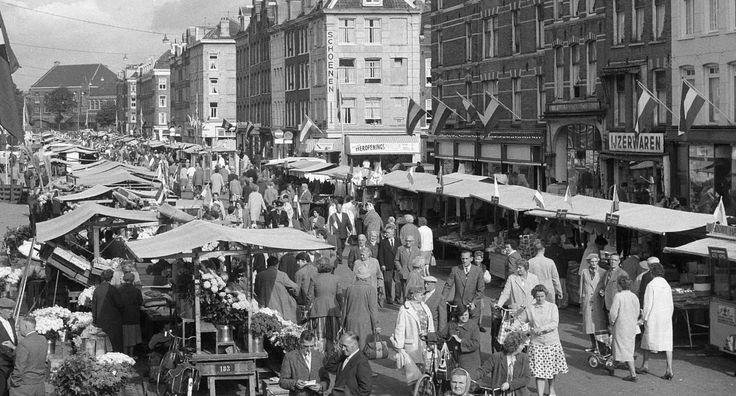 Geheugen van Oost - Dapperstraat 51mijn markt al meer dan 45 jaar denk ik, kwam er al als klein meisje met mijn mam
