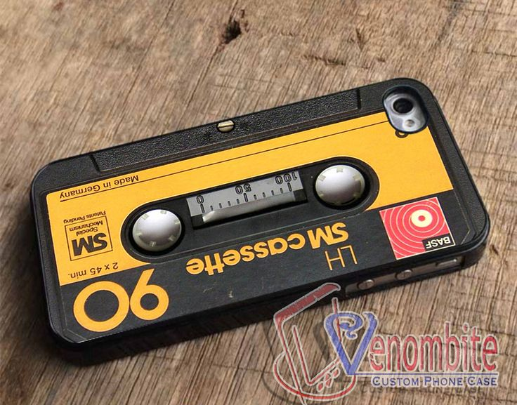 Compact Cassette Tape case iPhone, iPad, Samsung Galaxy, HTC Cases