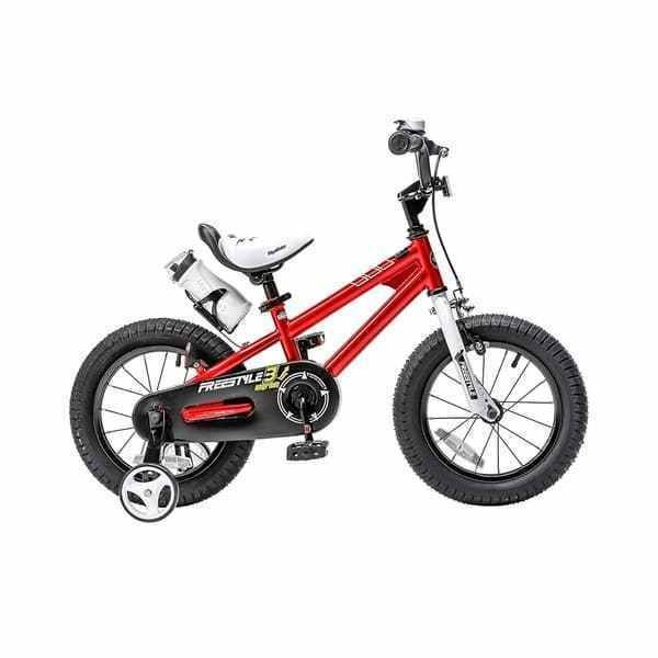 14 Inch RED Kids Bike Bicycle With Training Wheels BMX Freestyle