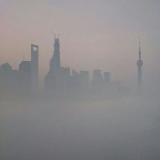 Shanghai is one of the most polluted city on earth. Look at these shocking pictures.