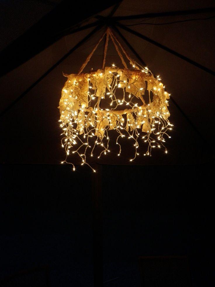 Luzinhas de Natal o ano todo pela casa!