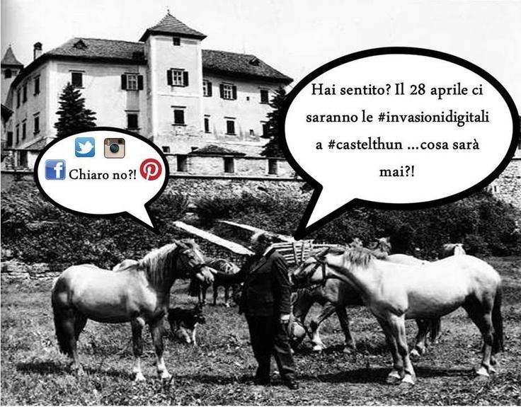 Marta Eccher #InvasioniDigitali a Castel Thun!