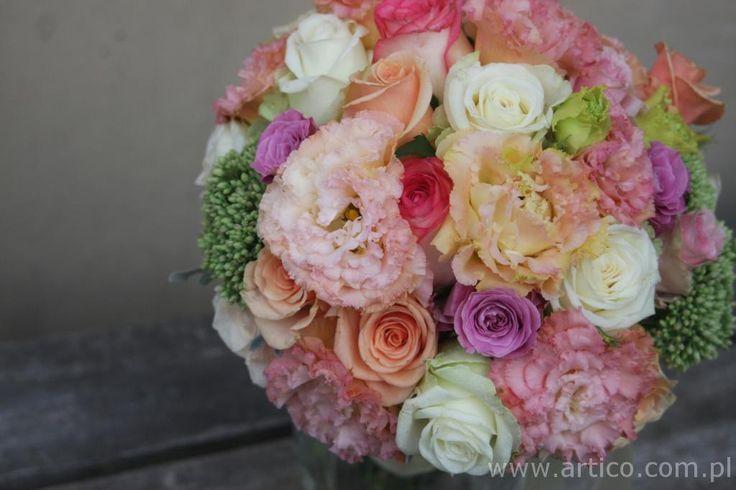 Nasz najpiękniejszy bukiet ;) Zapraszamy do kontaktu www.facebook.com/artico.kwiaty  #bukiet #ślub #kolor #kwiaty