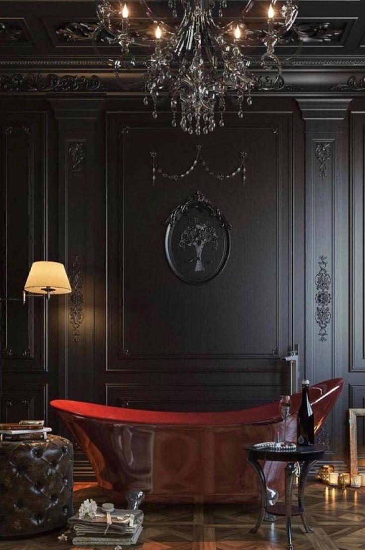 Wet Rooms Basic Ideas In Creating Perfect Bathroom Design 2019 Page 25 Of 30 Eeasyknitting Com Dark Interiors Design Classic Interior