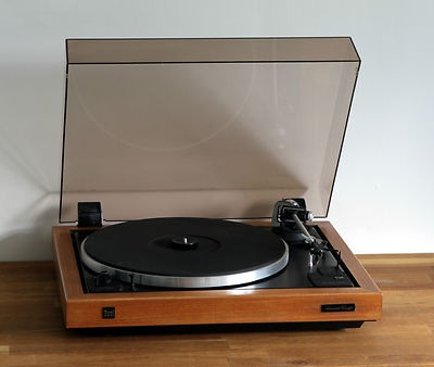 DUAL 505-3 belt drive turntable Belt drive Ortofon OM-5 Germany real wood veneer
