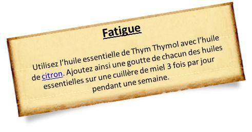 Le thym thymol : la star pdt l'hiver (si fatigues nerveuses et cérébrales mais aussi contre les pb respiratoires, des pb de peau, des infections intestinales...)