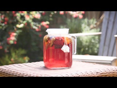Hibiscus Sun Tea Recipe - Thrive Market