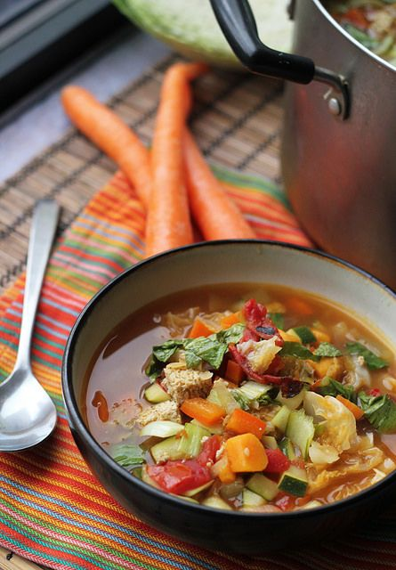 9- Vegetable Hot and Sour Soup
