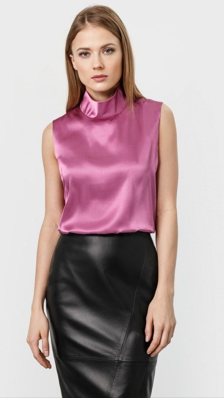 Dressy blouses are great for pairing with skirts and blazers. Get ready to take on the boardroom in style with a blouse that gives your skirt or pantsuit a pop of color. Just add pointed-toe pumps for a great professional look!
