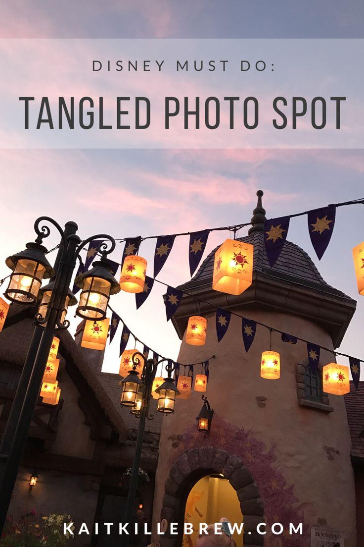 Tangled | Rapunzel | Walt Disney World | Disney Photopass | Disney Park Photo Ideas | Disney Memory Maker | Tangled Toilets | Lantern Picture | Disney Couple Pictures