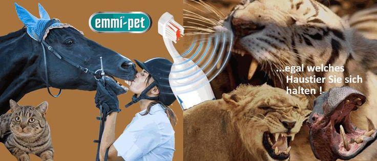 ACHTUNG: Für Hundefreunde und Tierliebhaber ein absolutes Highlight! Emmi-Pet: 100% ULTRASCHALL Reinigungssystem für Tiere. ✔ Die Weltneuheit in der Zahnpflege für Hunde, Katzen,... www.shop.ultraschall-wirkung.de ✔ Emmi-Pet – Professionelle Dental-Hygiene für Tiere.