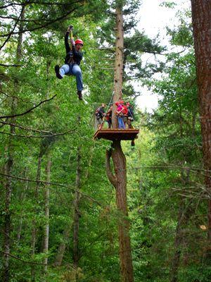 Ziplining in San Juan Islands (Seattle)