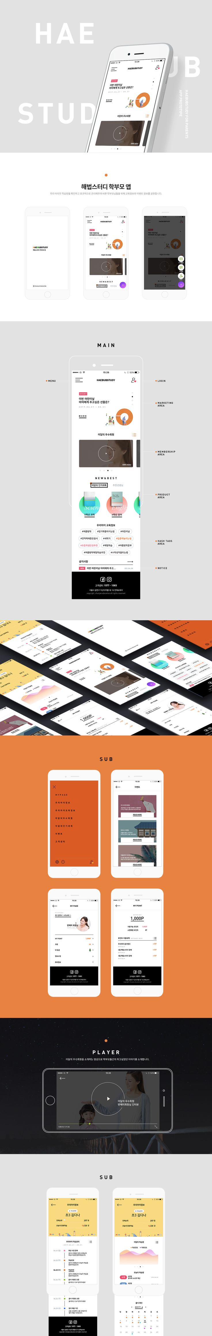 다음 @Behance 프로젝트 확인: \u201cHB app\u201d https://www.behance.net/gallery/51981993/HB-app