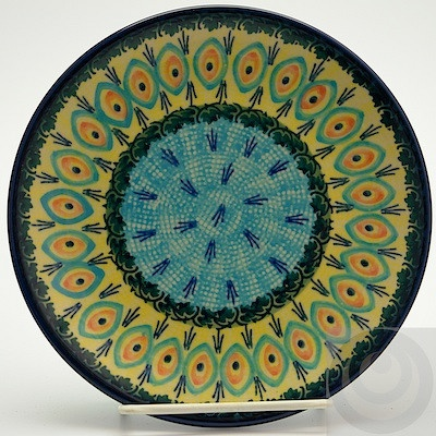 "7.25"" Dessert Plate ProvidenceT131S-WKON  I Love Polish Pottery! I want my kitchen full of this stuff!"