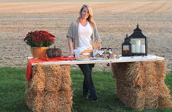 Fall Decorating Ideas: A Harvest Bonfire Party - The Home Depot ...