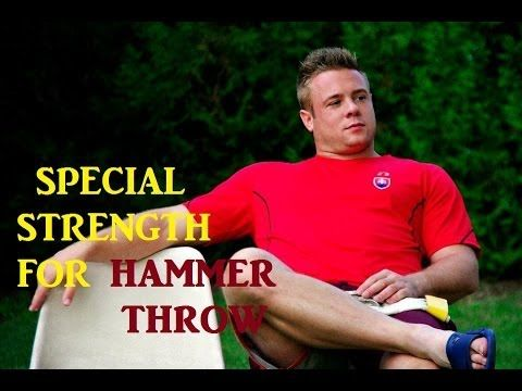 Marcel Lomnicky Special Strength for Hammer Throw