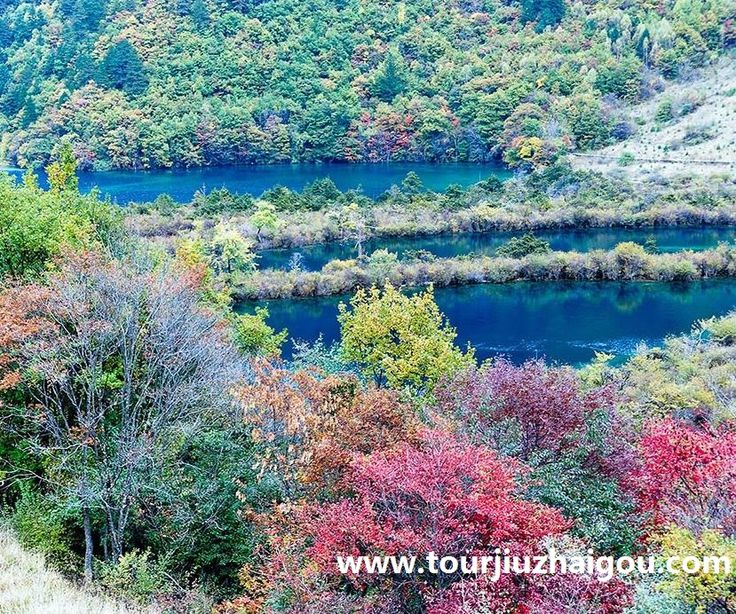 Beautiful Nuorilang Lakes