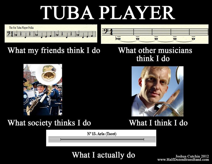 what sad? this applies many of times to Baritone too (not as much as tuba tho)
