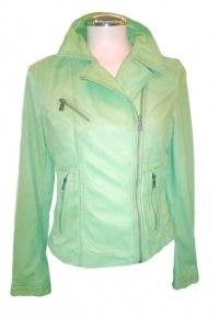 Oakwood Leather Jacket - Green