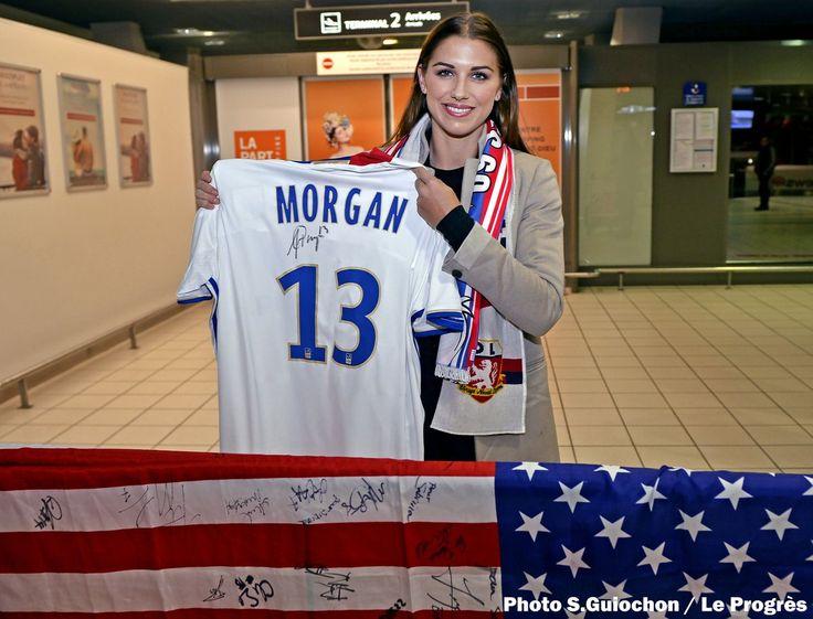 Alex Morgan || Olympique Lyonnais @OL Twitter (01.05.2016)