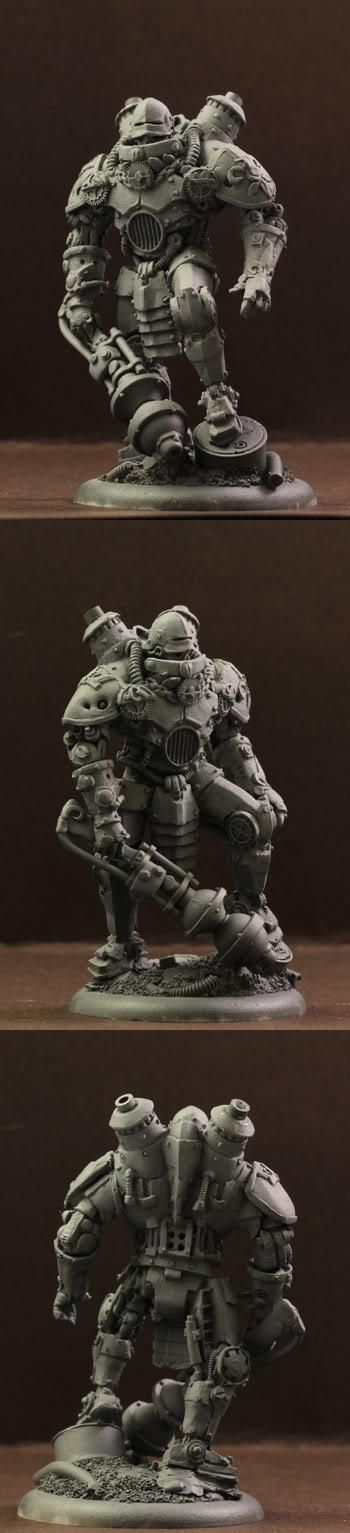Steam, Steampunk, Wargame, Warhammer Fantasy, Warmachine