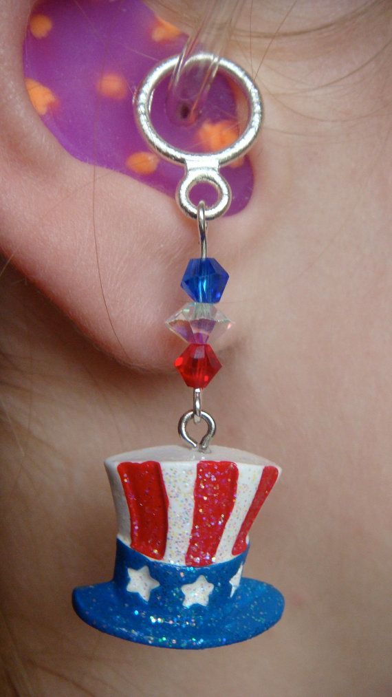 A patriotic hearing aid charm for July 4th! Hearing Aid Accessories