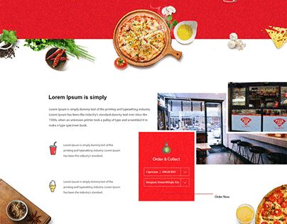 """Check out new work on my @Behance portfolio: """"Caribic Pizza - Concept"""" http://be.net/gallery/40743399/Caribic-Pizza-Concept"""
